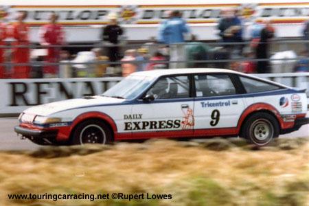 TWR Rover SD1 Silverstone 1981